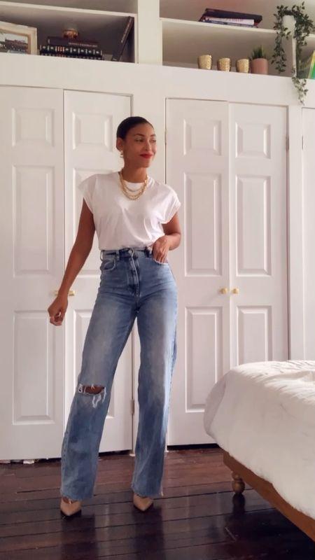 Jeans, spring outfits   #LTKstyletip #LTKunder50 #LTKunder100
