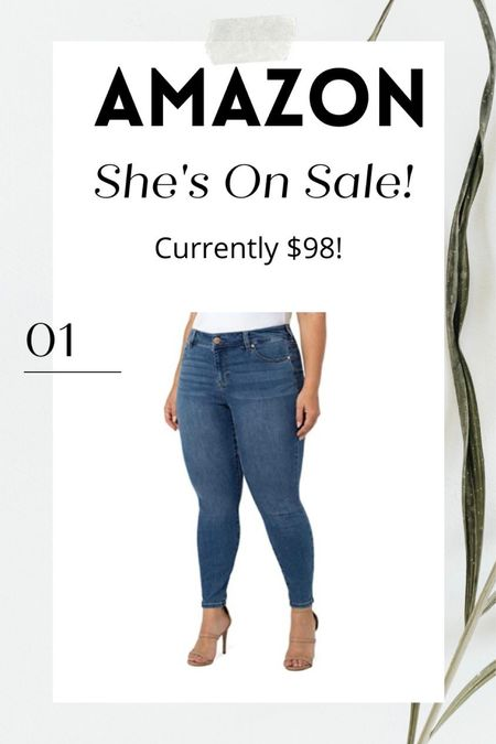 i have and love these jeans! currently 30% off  #LTKcurves #LTKunder100