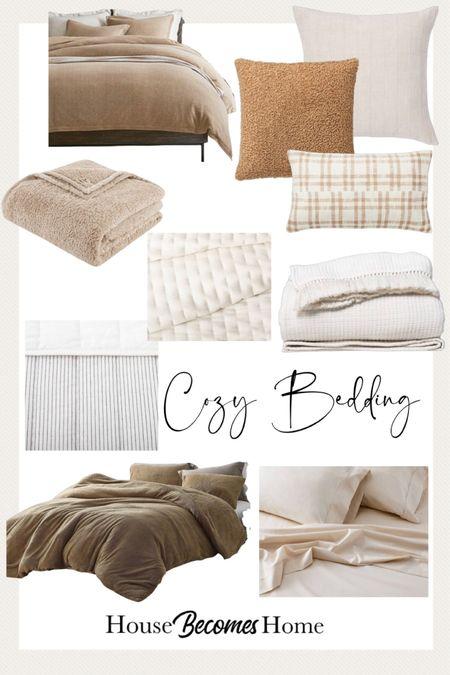 Cozy bedding set up   #LTKhome #LTKSeasonal #LTKstyletip