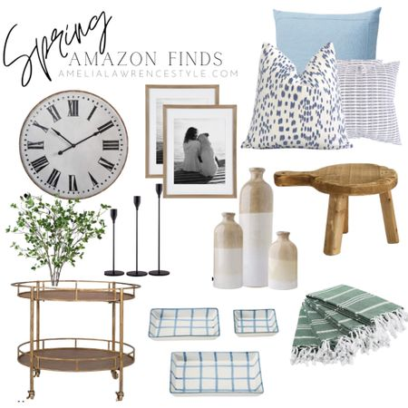 Spring is coming, the days are longer and your home needs a fresh update for spring. Lovely and affordable home decor finds from Amazon!  Amazon Home decor, Amazon finds, affordable spring decor, designer looks for less  #ltkstyletip    #LTKSeasonal #StayHomeWithLTK #LTKunder50 #LTKhome