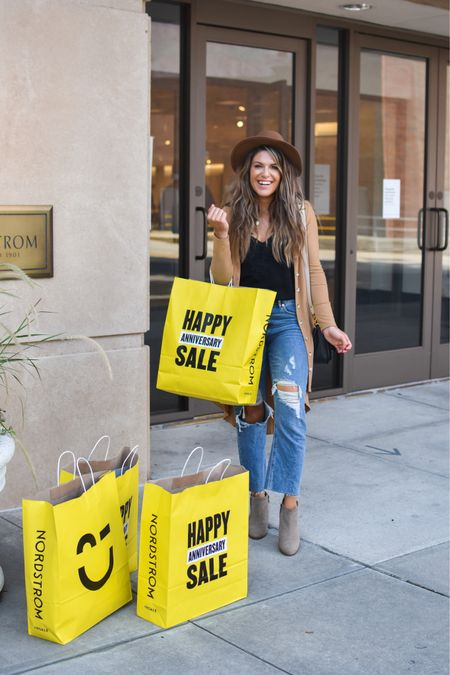 Shopped the Nordy sale yesterday (and stopped at a couple of my other favorite stores!) and tagged literally EVERYTHING I took home♥️✨ Some dressy shirts, some transitional outfits for fall, new mules, comfy house outfits- it was a fun shopping day! 😻 Screenshot this pic to get shoppable product details with the LIKEtoKNOW.it shopping app http://liketk.it/2VgLZ @liketoknow.it #liketkit #LTKunder50 #rStheCon #LTKsalealert