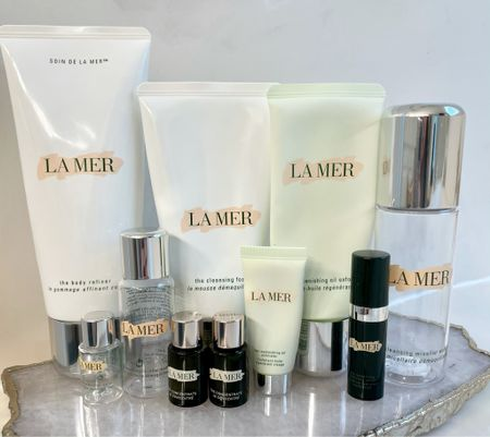 La Mer Skincare empties. I recently discussed all of my empties for the first half of the year on the blog.    #LTKbeauty