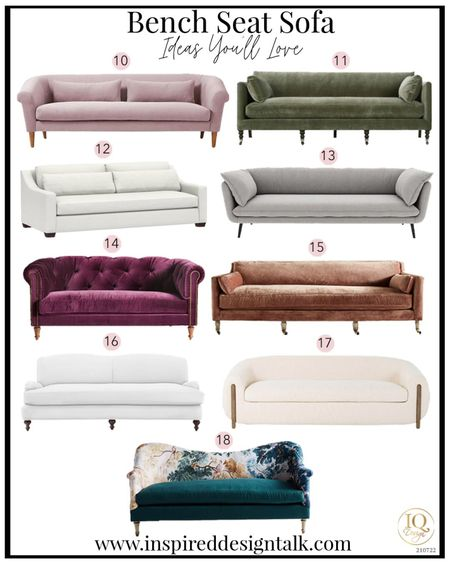 Update your living room home decor with the gorgeous velvet sofa from interior design. Perfect living room inspiration for the contemporary home.  Velvet couch, tufted sofa, sofa, couch, bench seat sofa, couches, sofas  You can instantly shop my looks by following me on the LIKEtoKNOW.it shopping app   #LTKbeauty #LTKstyletip #LTKhome