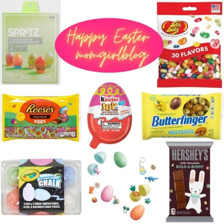 Happy Easter from momgirlblog! This is my once a year splurge from @Target for the kids Easter baskets! Included the hubby too, because his favorite are the Reese's & Jelly Belly's. The kids will be most excited for create your own Hershey's 🐰 & Kinderjoy! I'm just excited about the pre-packed eggs & the Butterfinger minis! 🐣 Hope this helps make your gift basket choices a little easier! #momgirlblog #happyeaster http://liketk.it/3bsOn #liketkit @liketoknow.it #LTKkids #LTKfamily #LTKunder50 @liketoknow.it.family Download the LIKEtoKNOW.it shopping app to shop this pic via screenshot