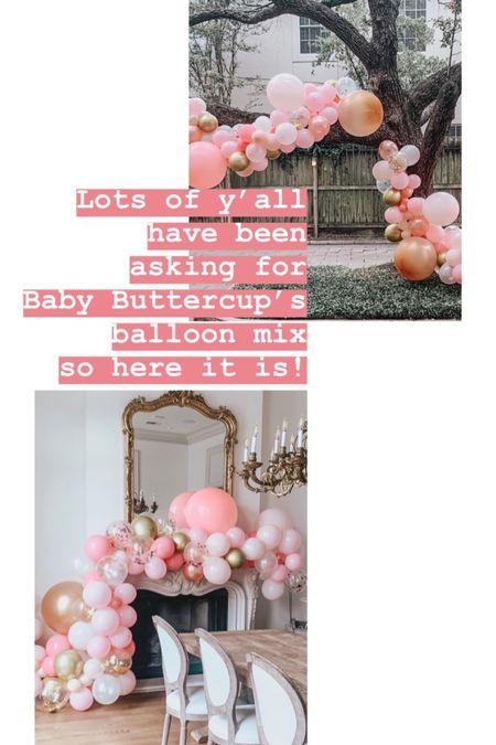 Baby Buttercup balloon mix http://liketk.it/2CPs7 #liketkit @liketoknow.it