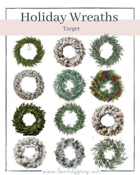 Holiday must have wreaths!  #LTKSeasonal #LTKHoliday