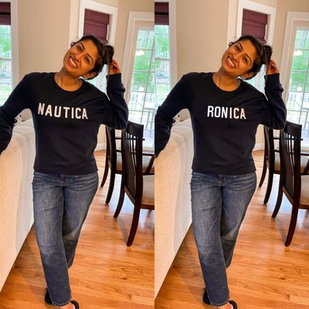 ✨Let's play a game. Spot the difference! ✨ Comment below with an emoji if you see it, but try not to spoil it for others 😛! . . . Sweatshirt: @nautica from tjmaxx $12 (found a similar zip-up sweatshirt)  Jeans: $12 from Costco last summer! (I own them in all 3 colors linked)  Smile: my ♥️ $free-fifty-nine . . .  http://liketk.it/3cLEN #liketkit @liketoknow.it #LTKunder50 #LTKhome #LTKstyletip @liketoknow.it.home @liketoknow.it.family  Shop my daily looks by following me on the LIKEtoKNOW.it shopping app