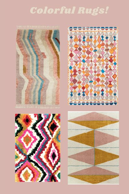 Colorful Rugs!   #LTKhome