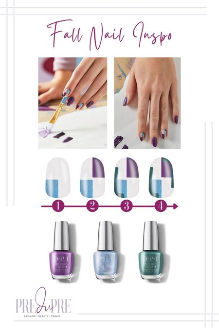 Dress up for the fall season not just with stylish clothing, but with the smallest detail too - your nails. Read more about how to create these gorgeous nails at www.predupre.com  http://liketk.it/3n08F   nail art, nail inspiration, nail inspo, fall inspo, fall style   #LTKSeasonal #LTKbeauty #LTKstyletip