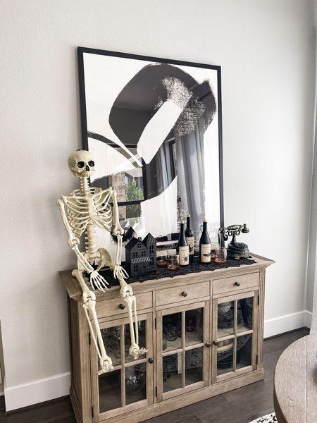 Walmart $28 Skeleton! Halloween decor finds!  #LTKunder50 #LTKsalealert #LTKstyletip