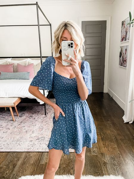 This dress would be perfect for the Fourth of July!   #LTKstyletip #LTKsalealert #LTKDay