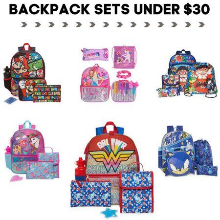 Kids back to school backpacks under $30 Check each item for promo codes to lower the price under $30 http://liketk.it/3jiqY   #LTKkids #LTKsalealert   #liketkit @liketoknow.it