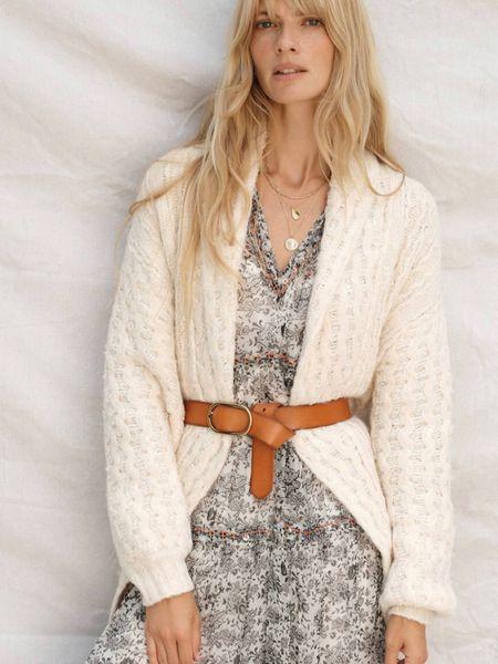 Fall outfit😍😍 - cardigan, knit, long dress, belt, fall style  http://liketk.it/2XZi9 #liketkit @liketoknow.it #LTKcurves #LTKstyletip #LTKworkwear