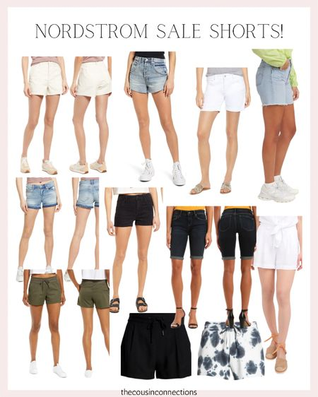 Nordstrom sale shorts! All of these are super chic and stylish for spring and summer 💕🤩  Summer outfit Shorts Memorial Day  Jean shorts  Linen shorts     #LTKsalealert #LTKSeasonal #LTKunder50
