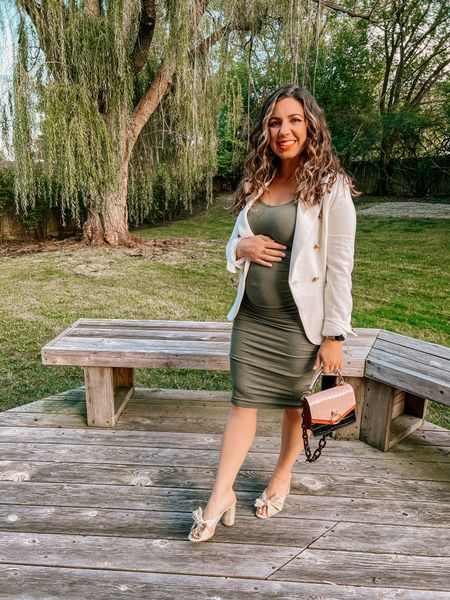 Maternity date night outfit.   #LTKbump #LTKSeasonal #LTKbaby