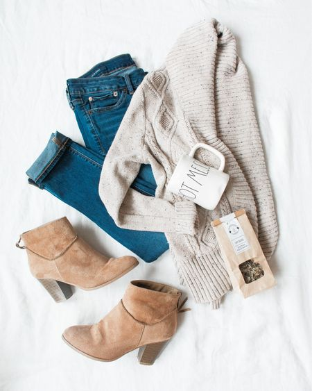 So happy for Saturday so I can curl up in my favorite Frame jeans and cardigan with a steamy cup of hot cider while I write my book.   http://liketk.it/2xJzb #liketkit @liketoknow.it You can instantly shop my look by following me on the LIKEtoKNOW.it app!