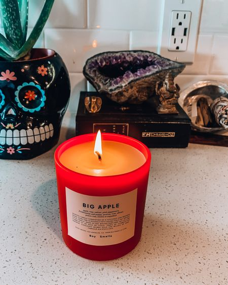 pockets of my sanctuary abode 🕯✨  my Big Apple candle having to suffice for trips to nyc in the meantime...   @liketoknow.it  #StayHomeWithLTK #LTKunder50 #LTKhome #liketkit http://liketk.it/2PqqL