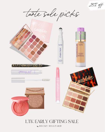 Tarte favorites for the sale!   #LTKSale #LTKbeauty