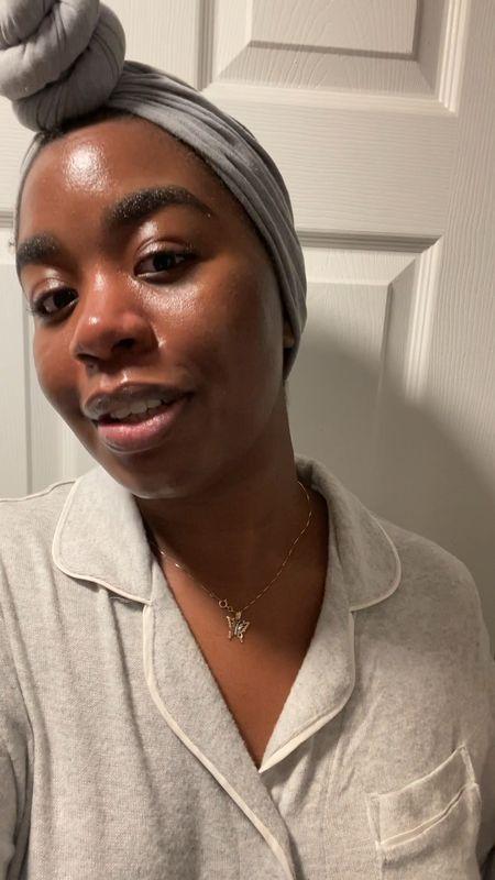 Loving this glow after using my skin skincare masks 🧖🏾♀️   #LTKbeauty #LTKunder100