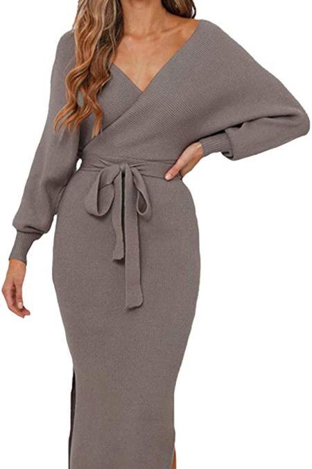 Amazon sweater dresses, fall sweaters, casual sweaters, cardigans, cozy sweaters, off the shoulder sweaters, backless sweaters, open back sweaters, oversized sweaters #founditonamazon @amazonfashion @shop.ltk #liketkit 🥰 Thanks for being here with me 🤍 XO Christin #LTKstyletip #LTKshoecrush #LTKcurves #LTKitbag #LTKsalealert #LTKfit #LTKunder50 #LTKunder100 @LTKworkwear #LTKtravel #LTKGiftGuide #LTKHoliday #LTKSeasonal