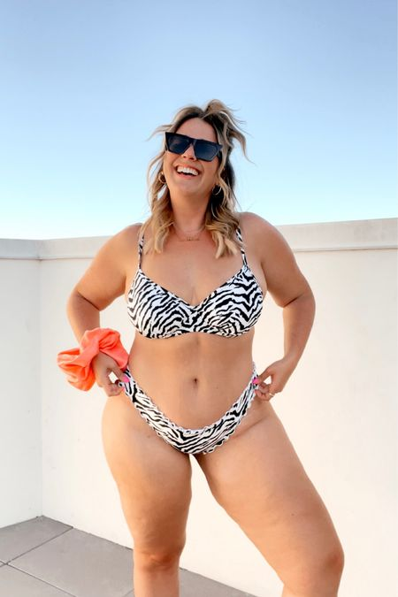 Linking all my Target suits here! I'm wearing the tops in a 36DD and all bottoms are an XL. Sop here: http://liketk.it/3hJhj #liketkit @liketoknow.it #LTKcurves #LTKswim