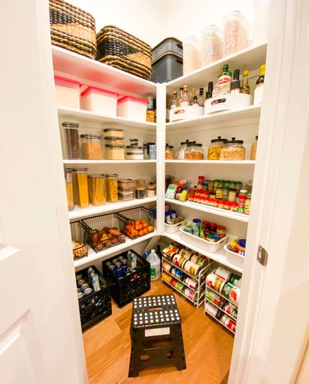Pantry organization          Pantry organizers , pantry storage , pantry organization , pantry containers , amazon home , amazon finds , the container store , kitchen decor , home decor   #LTKstyletip #LTKunder50 #LTKhome