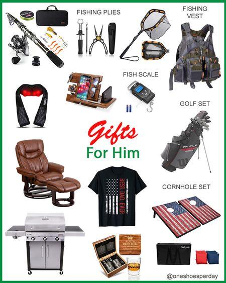 Amazon Finds  Gifts for him        http://liketk.it/3pRdk @liketoknow.it #liketkit #LTKGiftGuide #LTKHoliday #LTKsalealert #LTKSeasonal #LTKmens #LTKtravel #LTKunder50 #LTKworkwear Amazon Favorites | Grill | Sofa | Massage | Golf | Cornhole | Fishing | Wine Set | Gift Guide | Gift Ideas | Men's Gifts | Gifts for Men's | Christmas gifts |