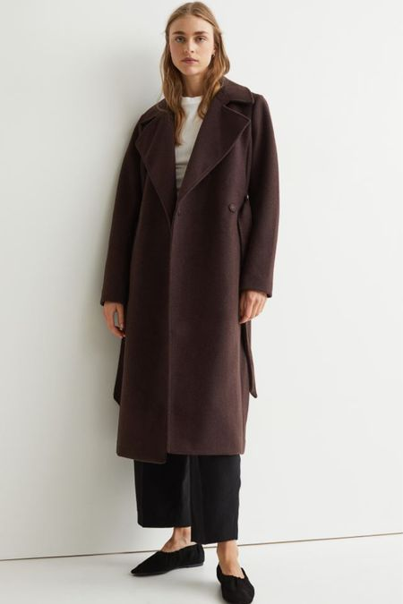 Fall coats under $100, Wtap coat, brown coat   #LTKSeasonal #LTKunder100 #LTKHoliday
