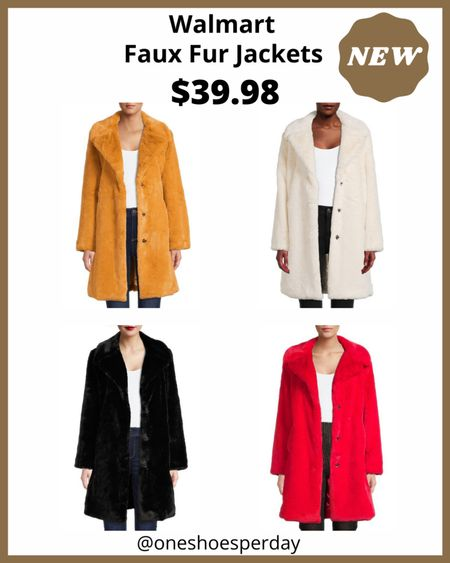 Walmart Favorites  Faux Fur Jackets $39.98          http://liketk.it/3q0Cp @liketoknow.it #liketkit #LTKGiftGuide #LTKHoliday #LTKSeasonal #LTKsalealert #LTKunder50 #LTKworkwear #LTKFall | Travel Outfits | Teacher Outfits | Casual Business | Blazers | Blazer | Fall Outfits | Fall Fashion | Pumpkins| | Pumpkin | Booties | Boots | Fall Boots | Winter Boots | Bodysuits | Leggings | Halloween | Shackets | Plaid Shirts | Plaid Jackets | Activewear | White Sneakers | Sweater Dress | Fall Dresses | Sweater Vests | Denim | Jeans | Cardigans | Sweaters | Faux Fur Jackets | Faux Leather Pants | Faux Leather Jackets |Coats | Fleece | Jackets | Bags | Handbags | Crossbody Bags | Tote | Wedding Guest Dresses | Gifting | Gift Guide | Gift Ideas | Gift for Her | Mother in Law Gifts | Leather Pants | Winter Outfits | Puffer Jackets | Christmas | Christmas Gifts | Holiday |