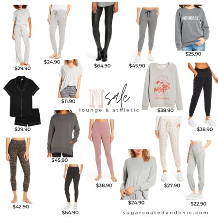 Nsale loungewear and athletic! Some of my favorite leggings of all time, joggers, sweatpants, pajamas sets and more! #liketkit #LTKsalealert #StayHomeWithLTK #nsale #nsale2020 #loungewear #athleticwear #leggings http://liketk.it/2THng @liketoknow.it