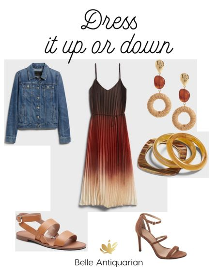 Dress this one up or down! Great for a wedding guest dress or relaxed dinner.   #LTKstyletip #LTKshoecrush #LTKwedding