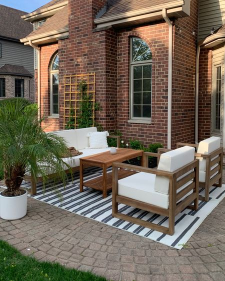 Outdoor couch set http://liketk.it/3eqg5 @liketoknow.it #liketkit #LTKhome #LTKunder100 #LTKswim