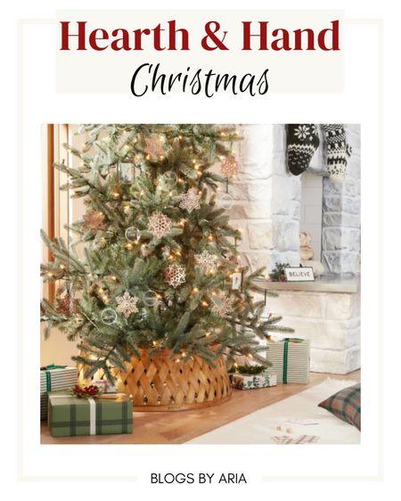 Hearth and Hand Christmas decor Christmas tree decorations Christmas gift wrap   #LTKhome #LTKHoliday