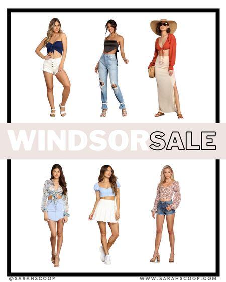 Stay cute all summer with these tops ON SALE at Windsor!! 💕🛍💕🛍  #LTKsalealert #LTKstyletip #LTKSeasonal