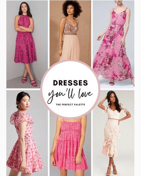 Sweetest Dresses in Shades of Pink for Summer! 💖    #LTKunder100 #LTKhome #LTKfit #LTKunder50 #LTKstyletip #LTKcurves #LTKfamily #LTKswim #LTKsalealert #LTKwedding #LTKshoecrush #LTKitbag #LTKtravel #LTKNewYear #liketkit @liketoknow.it  #LTKSeasonal #bridesmaids #bridesmaiddresses #dresses #weddingguestdresses #weddingguest #weddingguestdress #bridesmaiddress #mididress #maxidress #wedding #dress #bridalshowerdress #weddingdress #springoutfit #springdress #summerdress #summerfashion #LTKbeauty http://liketk.it/3hIhY