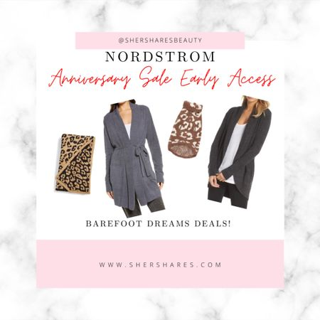 Barefoot Dreams Deals in the Nordstrom Anniversary Sale! Early Access Passholders or save it for public access tomorrow! #nsale  #LTKhome #LTKsalealert
