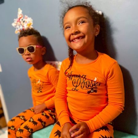 Matching pj szn is all year round. Love grabbing matching pjs from @Carter's for my kiddos   #LTKsalealert #LTKfamily #LTKunder100