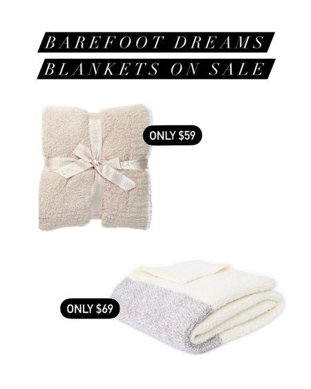 Barefoot dreams blankets on sale! http://liketk.it/3jWdk @liketoknow.it #liketkit #LTKhome #LTKunder100 #LTKsalealert