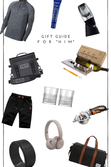 Gift guide for all the men in your life! Hubby, brother, dad, etc!   #LTKgiftspo #LTKfamily #StayHomeWithLTK