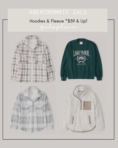 Abercrombie & Fitch Hoodie & Fleece sale. Staring as low as $39! http://liketk.it/3qfqE @liketoknow.it #liketkit #LTKunder100 #LTKsalealert #LTKstyletip