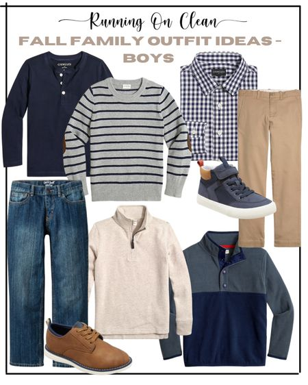 Fall outfits for boys // family outfit ideas for pictures   #LTKkids #LTKSeasonal #LTKfamily