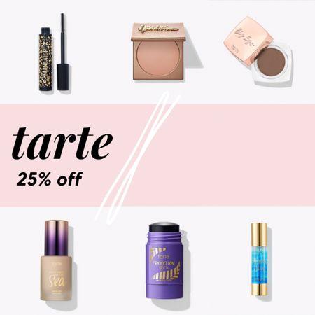 Favorites from tarte, now 25% off! 🤍    http://liketk.it/3cFVV @liketoknow.it #liketkit #LTKSpringSale #LTKbeauty