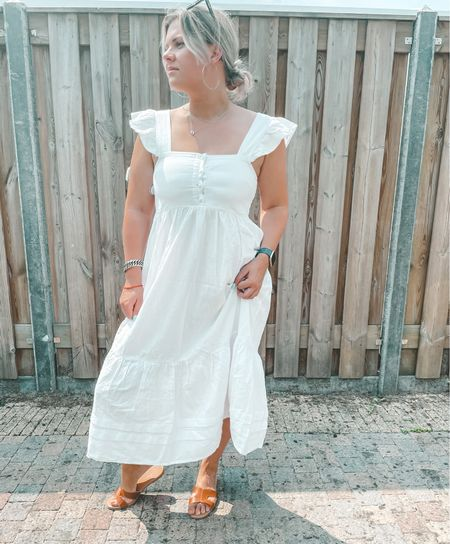 Linen Asos dress