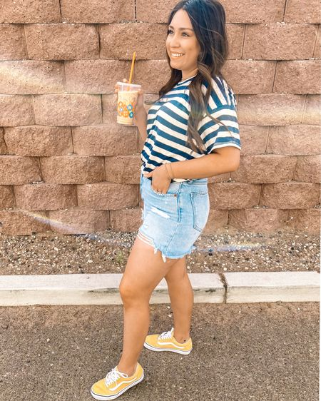 Coffee in hand Summer Vibes! http://liketk.it/2R6oS #liketkit @liketoknow.it #LTKunder100 #LTKstyletip #LTKspring Shop your screenshot of this pic with the LIKEtoKNOW.it shopping app