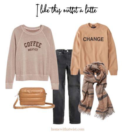 Grab a pumpkin spice latte in sweats and jeans. http://liketk.it/3q47K @liketoknow.it #liketkit #LTKSeasonal #LTKstyletip #LTKunder50 Download the LIKEtoKNOW.it app to shop this pic via screenshot