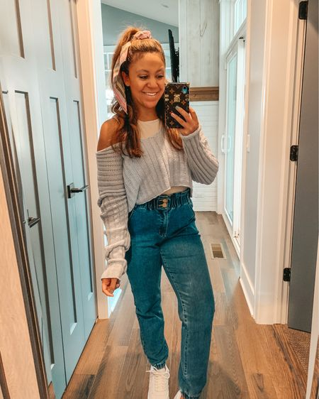 Body contour tops and paper bag jeans; these are a few of my favorite things 🎶 Express is having a BOGO sale on their body contour collection with code 7016. These tanks, shirts and bodysuits smooth you out and have a slight compression. They are WORTH IT 🙌🏼 My high waist mom jeans are under $40 and prime ✔️ Everything linked here + in my bio @liketoknow.it  http://liketk.it/3fjK8 #liketkit #LTKunder50 #LTKstyletip  #weekendstyle #LTKsalealert #ExpressYou #bodycontour #momjeans #amazonfashion #clevelandblogger #casualstyle #joggerjeans  #realmomstyle #momstyle #saturdaystyle #fashionblogger #stylepost #paperbagjeans #paperbagpants #paperbag #americanstyle #targetstyle #casuallook #petiteblogger #amazonfinds #springstyle #womensfashion #petitestyle #affordablefashion #express #hellotravelblog