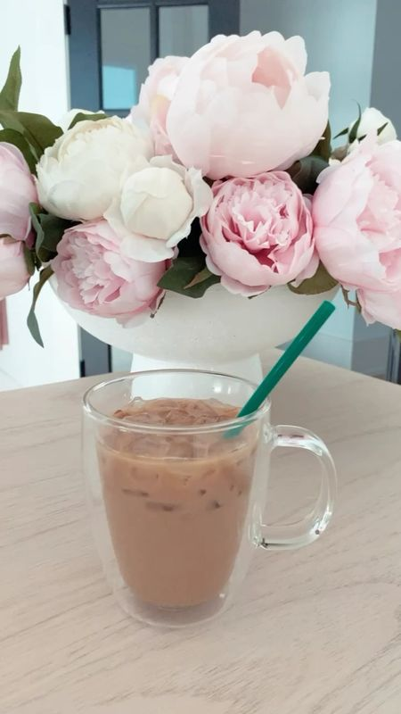 Home decor. Peonies. White case. Coffee mug.   #LTKhome #LTKstyletip #LTKSeasonal