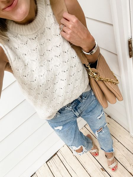 Loving this sweater tank as we transition into fall! 🍁  #LTKstyletip