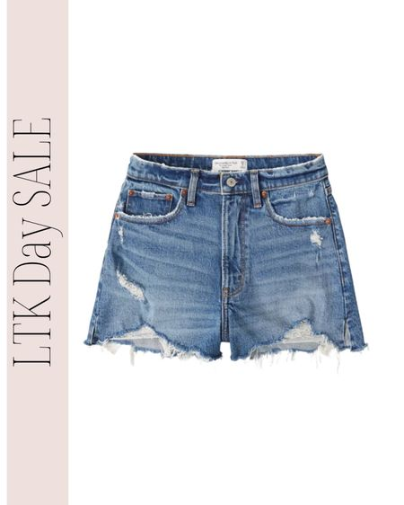 The only jean shorts I'll wear! True to size and the perfect length! Shorts, summer outfits, beach vacation outfits http://liketk.it/3hgz5 #liketkit #LTKDay #LTKstyletip @liketoknow.it
