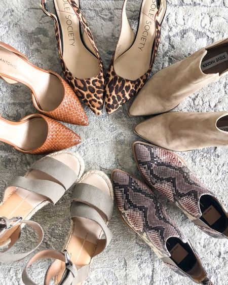 Linked up some similar and some exact items that are still in stock! http://liketk.it/3eBjX #liketkit @liketoknow.it #LTKshoecrush   I love expensive shoes.  I love the design, the texture, the material, the form, the function.  It's not that I love the material object so much.  But I love who they inspire me to be.  When I'm wearing a pair of shoes that I love, I carry myself differently. It is a representation of who I want to be, and who I already am.   I'm a powerhouse. I'm elegant and classy. I can run in heels. (Maybe not while pregnant!)  The simple act of putting on a shoe invites me to dream bigger, to see possibility, to literally step into a version of myself that makes me proud.   The unique features and lines that were crafted to turn awkward feet into a work of art.   Our feet carry us through life, so why shouldn't they be beautiful?  Art is powerful. Beauty is powerful. Design is powerful.   Don't overlook that in your own life.   The choices you make, like your clothing and shoes you will wear for the day, can be the outward expression of your dreams and desires. It can be the outward expression of your grace and determination.   And you get to craft that for yourself, to create the image of who you are.   And you already are that person, it is simply an expression of who you are, showing the world how much you shine, setting your purpose as a visual to others.   I love beautiful shoes.   What do you love? How is that a reflection of the beauty within you?